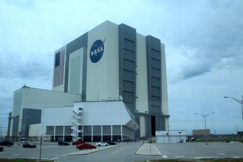 Cape Canaveral Kennedy Space Center Florida Nasa Gebäude Headquarters exploreglobal