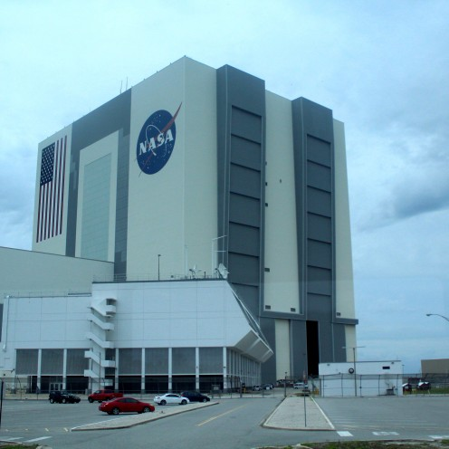 Cape Canaveral Kennedy Space Center Florida Nasa Gebäude Headquarters exploreglobal