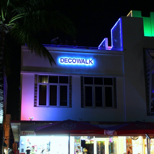 Decowalk Miami Art Deco District by night exploreglobal