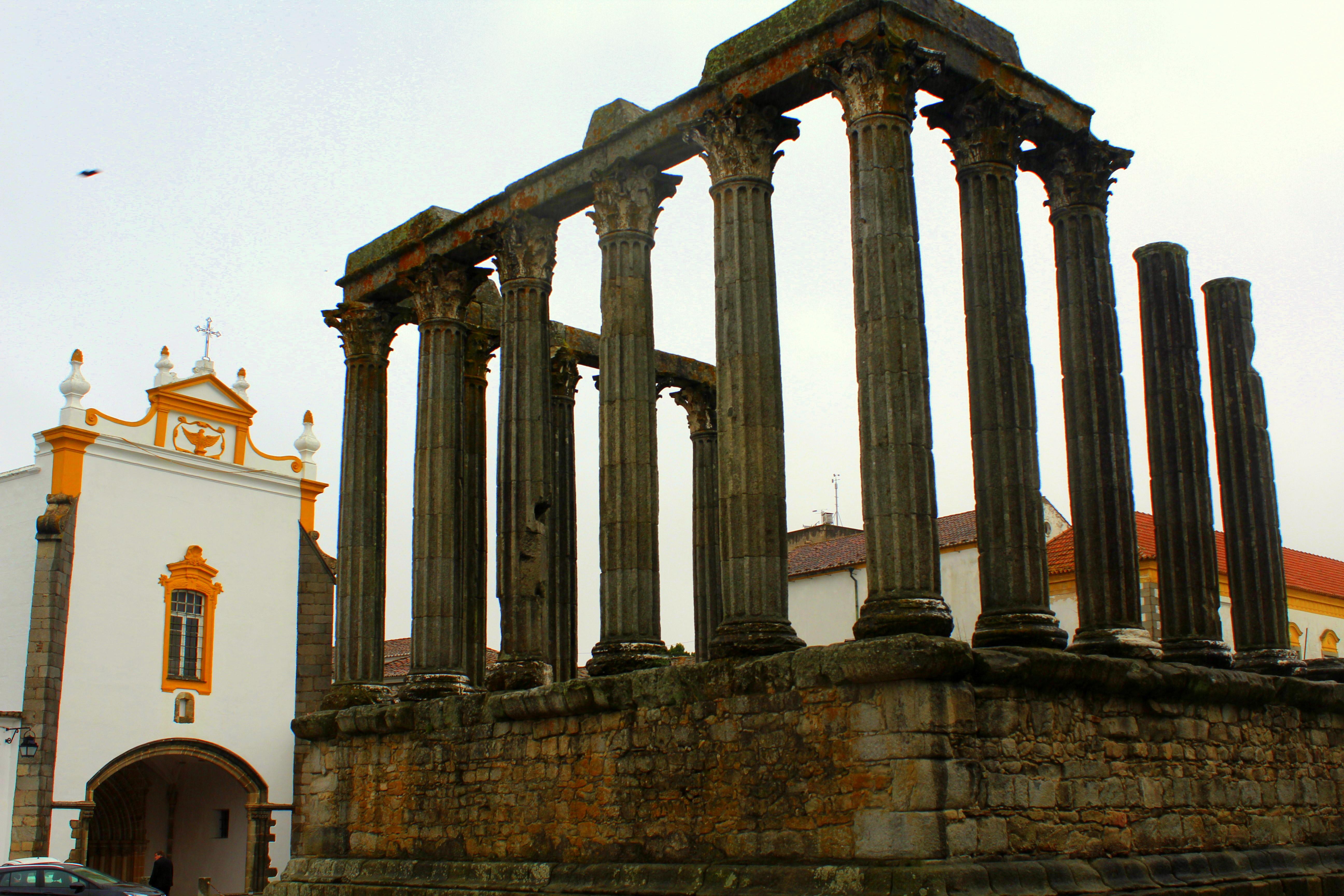 Evora Portugal Unesco Tempel