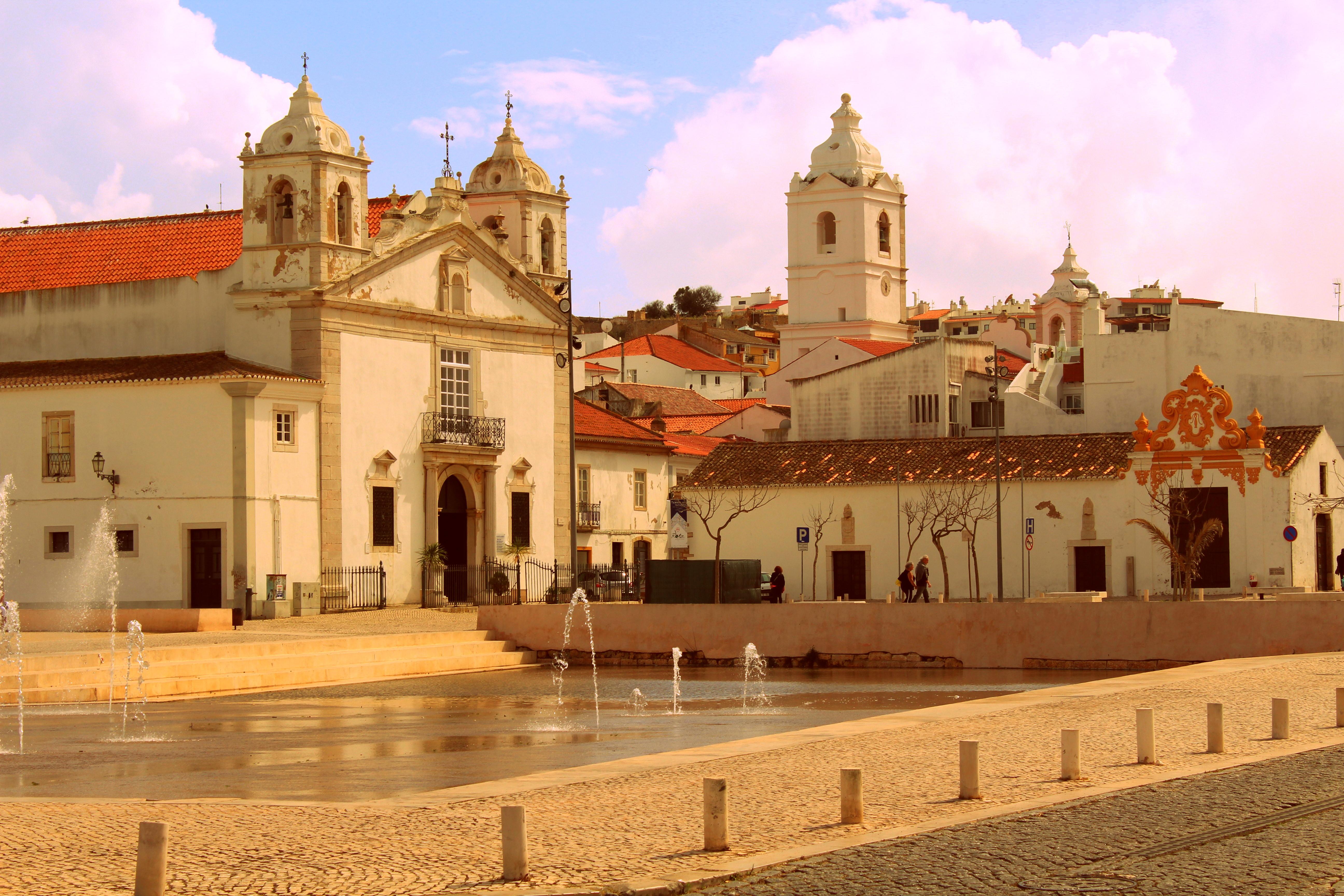 Kirche Lagos Portugal Hafen exploreglobal