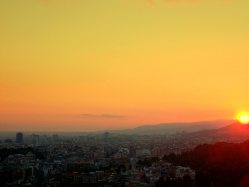 BarcelonaAtardecer