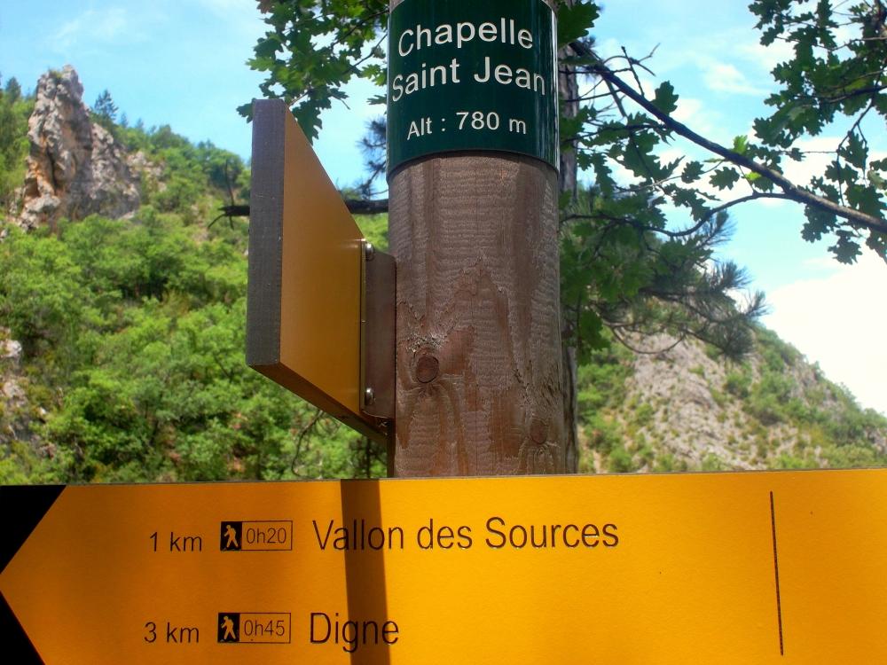 Digne les Bains Wanderweg