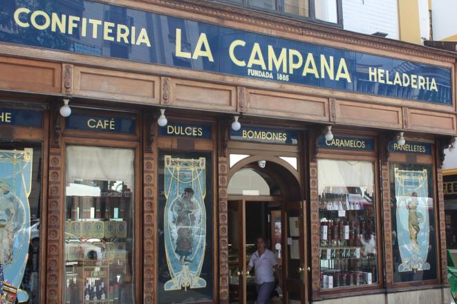 seit 1885 in Sevilla - Konditorei La Campana