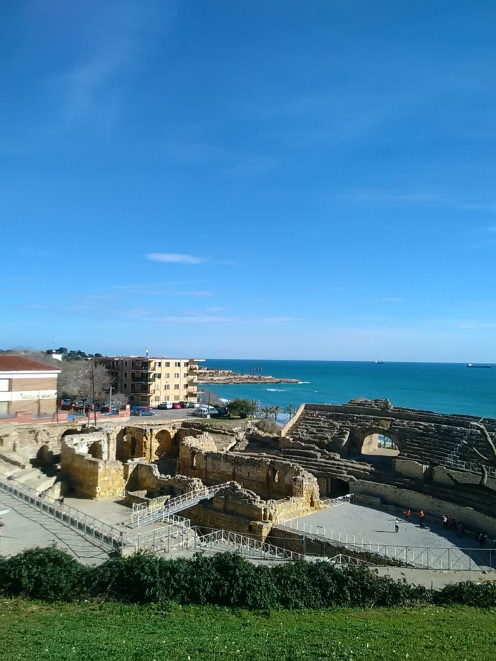 Tarragona Costa Dorada Amphitheater Spanien - Reiseblog Exploreglobal