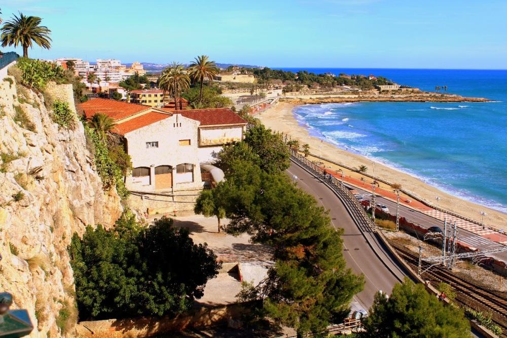 Tarragona Costa Dorada Promenade von oben - Spanien, Reiseblog Exploreglobal
