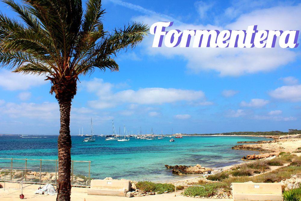 Formentera Ibiza Strand Playa Illetes Bild