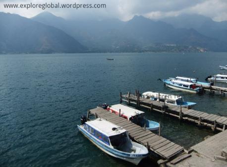 San Antonio Guatemala Lago de Atitlan Fuego Vulkan Pacaya