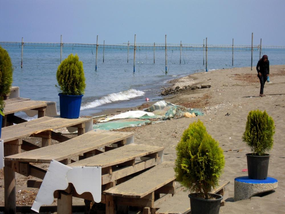 Strand Ufer Kaspisches Meer Iran