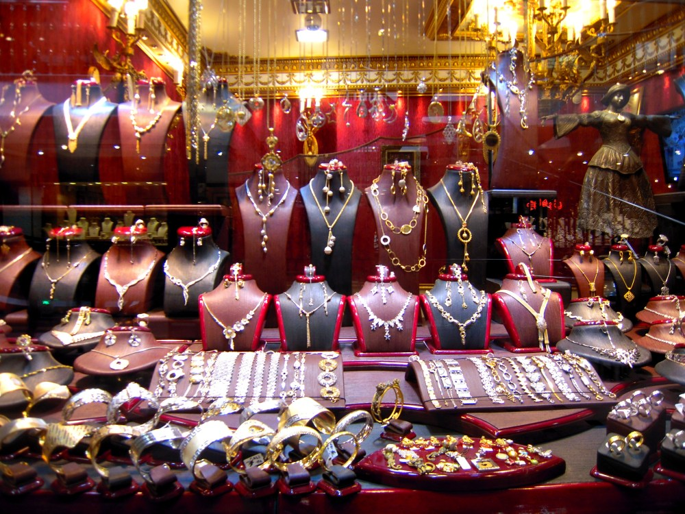Iran Maschhad Schmuck Geschäft Laden Reichtum
