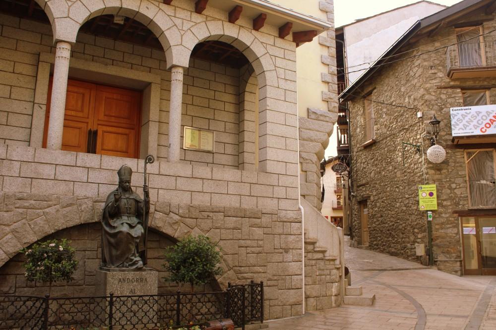 Kirche Església de Sant Esteve Andorra La Vella