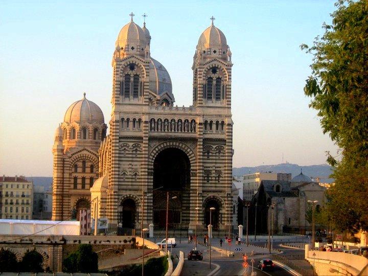 Marseille Dom Hafen