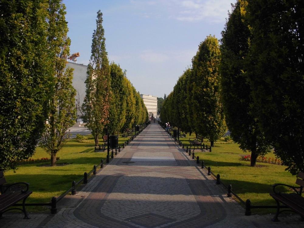 Masuren Parkanlage Park Bäume Nature Garten