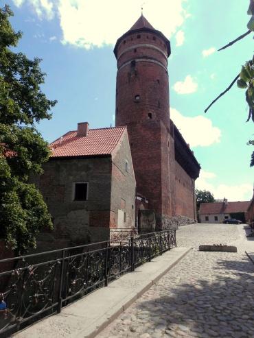 Masuren Polen Altstadt Turm