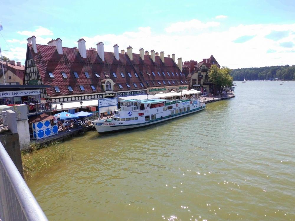 Mikolajki Masuren Polen Schiff Boot 2