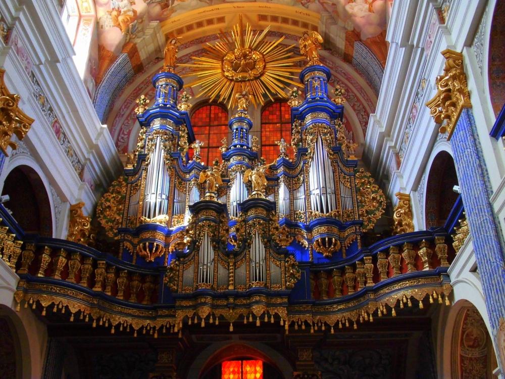 Swieta Lipka Heilige Linde Kathedrale Kirche von innen Orgel Wallfahrt