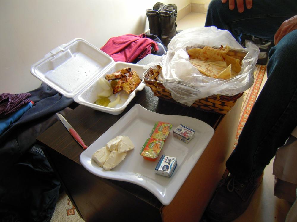 Verpflegung Essen Brot Iran Mahlzeit