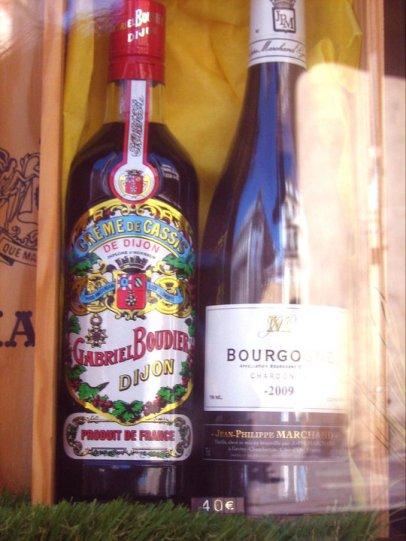 Dijon Altstadt Fachwerkhaus Cassis Wein Burgund Bourgogne France Frankreich