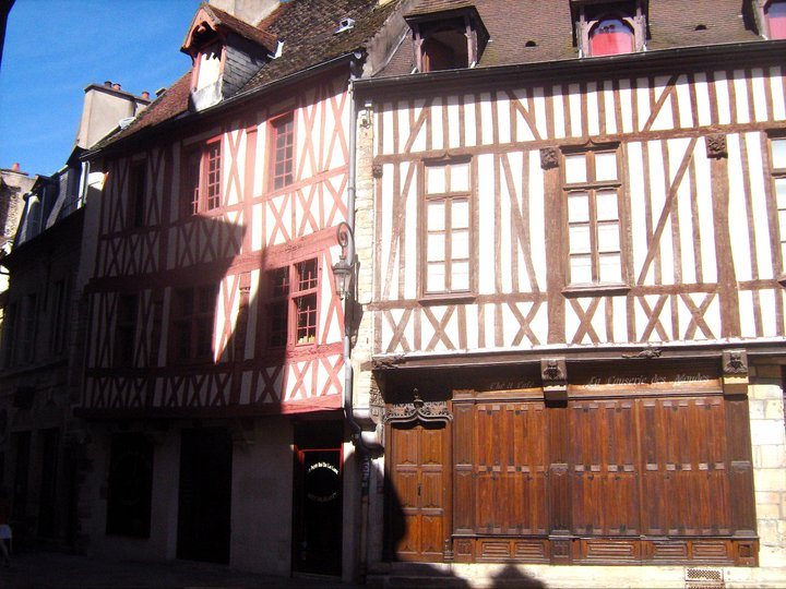 Dijon Fachwerkhaus Altstadt Burgund Bourgogne France Frankreich