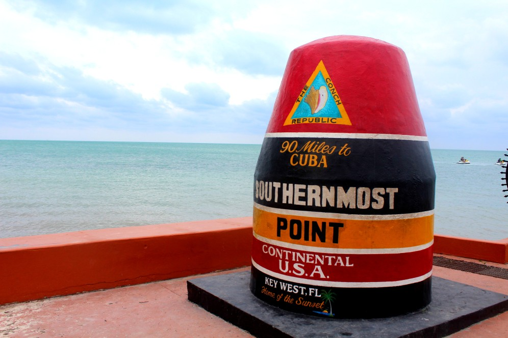 Most Southern Point of the continental USA in Key West