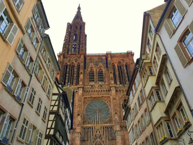 Strasbourg Strassburg notre dame münster Kathedrale Kirche Bauwerk exploreglobal