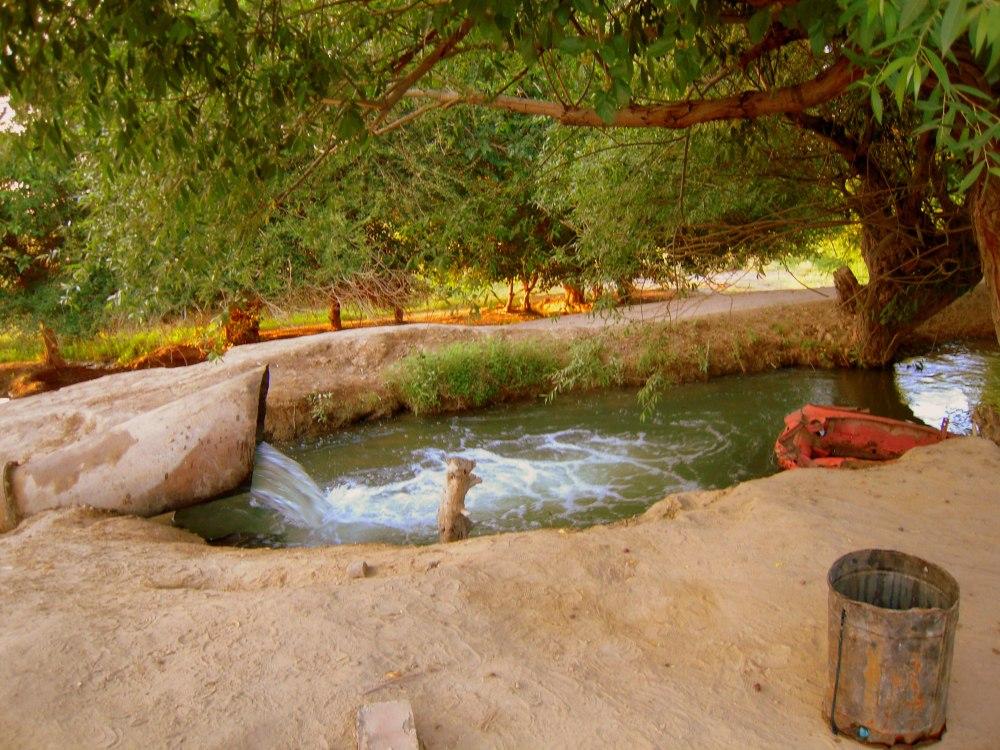 Wasser Water machine Maschine Bewässerung 2 Desert Wüste Karakum Turkmenistan Ashgabat Merw Mary Turkmenabat