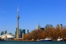 Toronto Skyline skyscraper Wolkenkratzer Tour CN Tower Lake Ontario vorgelagerte Inseln Bootsfahrt Boot Hafen Ausblick Kanada Canada Reiseblog exploreglobal www.exploreglobal.wordpress.com