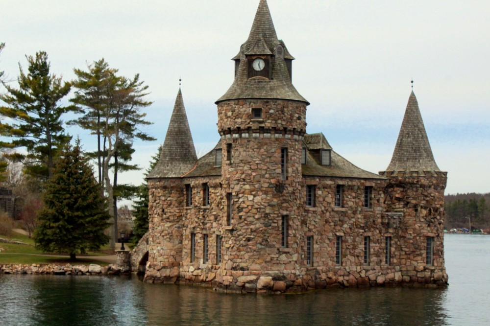 Das Generatorhaus des Boldt Castle auf Heart Island in den USA (New York State) Kanada Canada Ontario Thousand 1000 Islands Reiseblog exploreglobal www.exploreglobal.wordpress.com