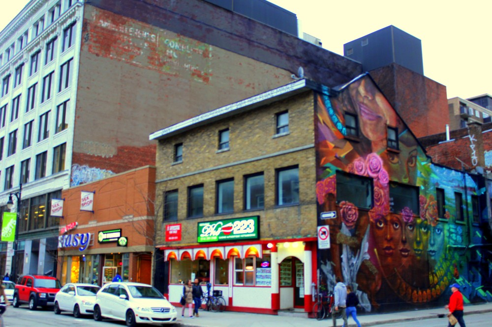 Montreal Québec Canada Graffiti Saint Catherine Kunst Kultur street art wall Kanada Reiseblog exploreglobal www.exploreglobal.wordpress.com 2