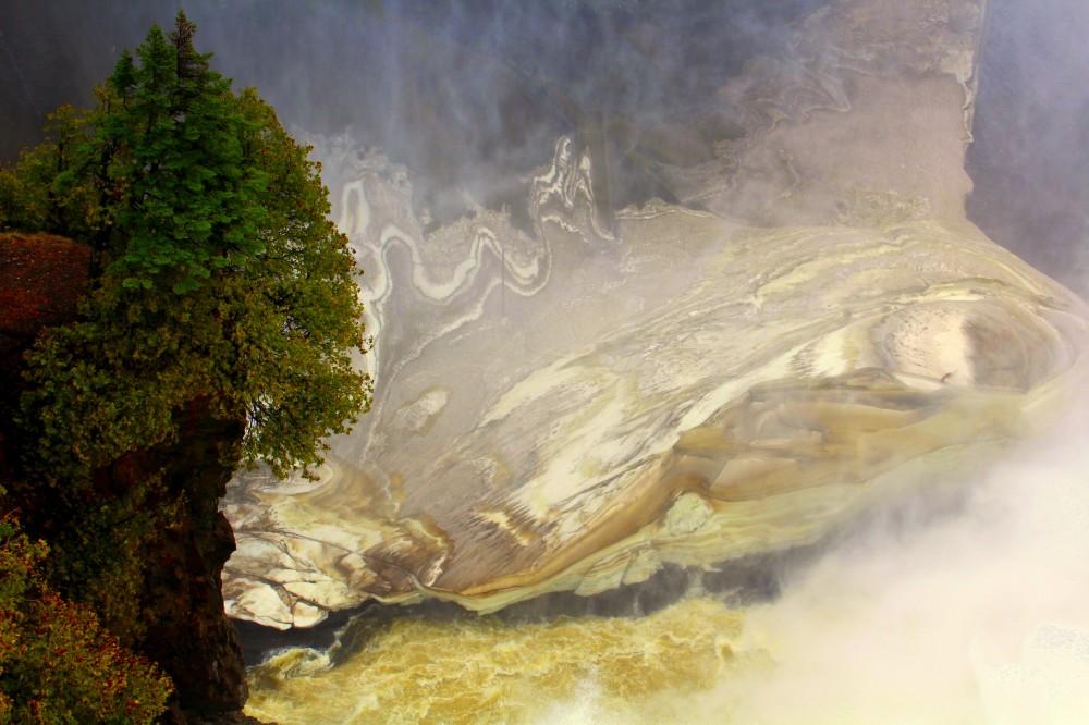 Quebec Montmorency Waterfalls cascade Wasserfall Ile d'Orleans Canada Kanada exploreglobal Reiseblog 4