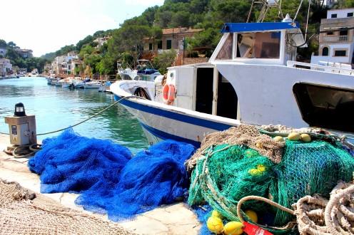 Cala Figuera Blick vom Restaurant auf Hafen Bucht 2 Mallorca Meer Spanien Reiseblog exploreglobal