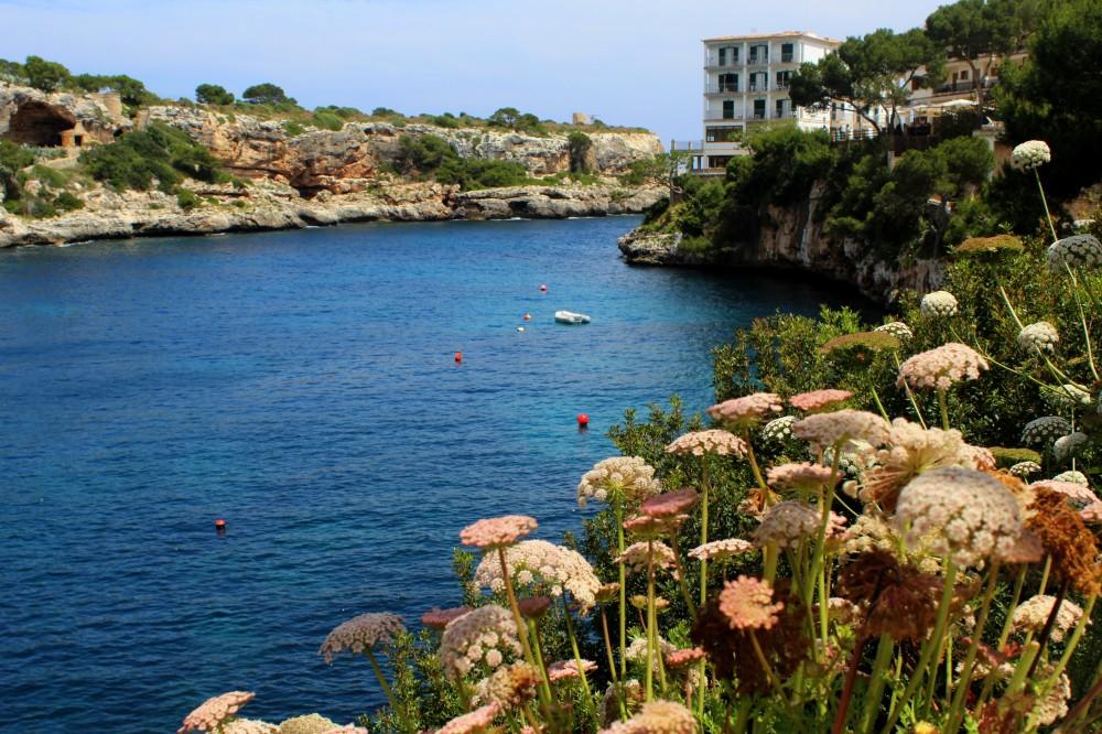 Cala Figuera Blick vom Restaurant auf Hafen Bucht Mallorca Meer Spanien Reiseblog exploreglobal