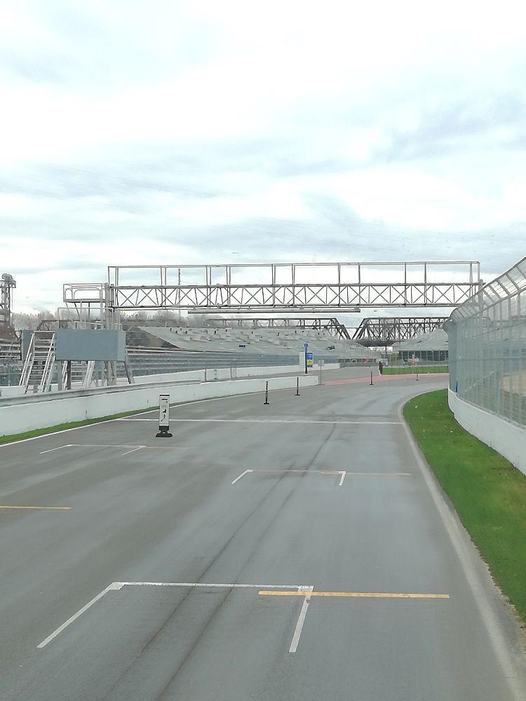 Formel 1 Rennstrecke in Montréal auf der Ile Notre-Dame