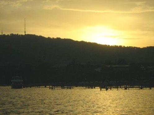 Schweiz Zürich See Sonnenuntergang exploreglobal Reiseblog