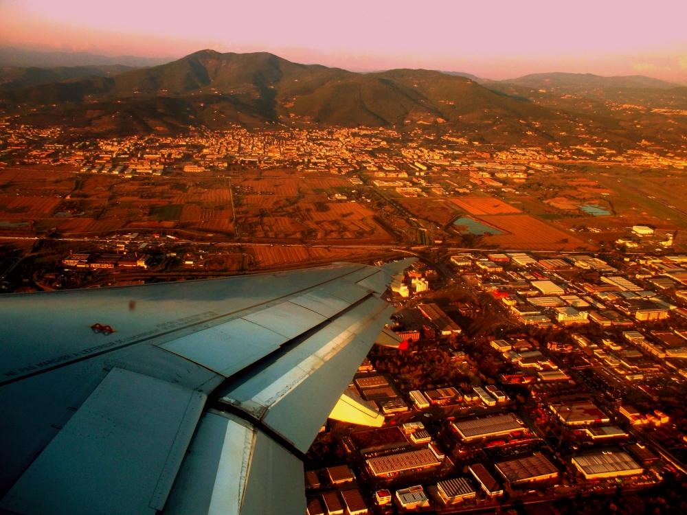 Florenz von oben - Hinterland und Berge der Toskana in Italien, Reiseblog Exploreglobal