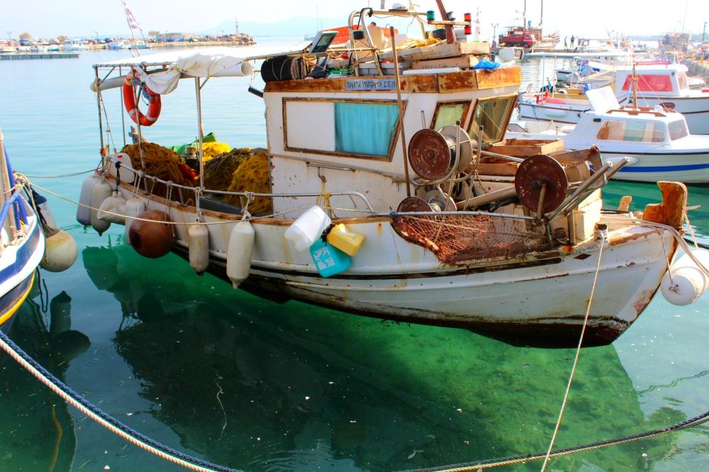 Angistri Insel Fischkutter Boot Hafen Megalochori Reiseblog Exploreglobal