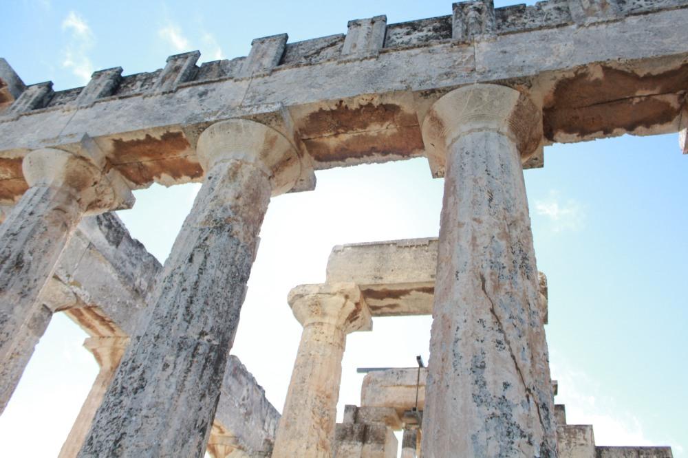 Aphaia Tempel bei Agia Marina auf der Insel Ägina - Reiseblog Exploreglobal