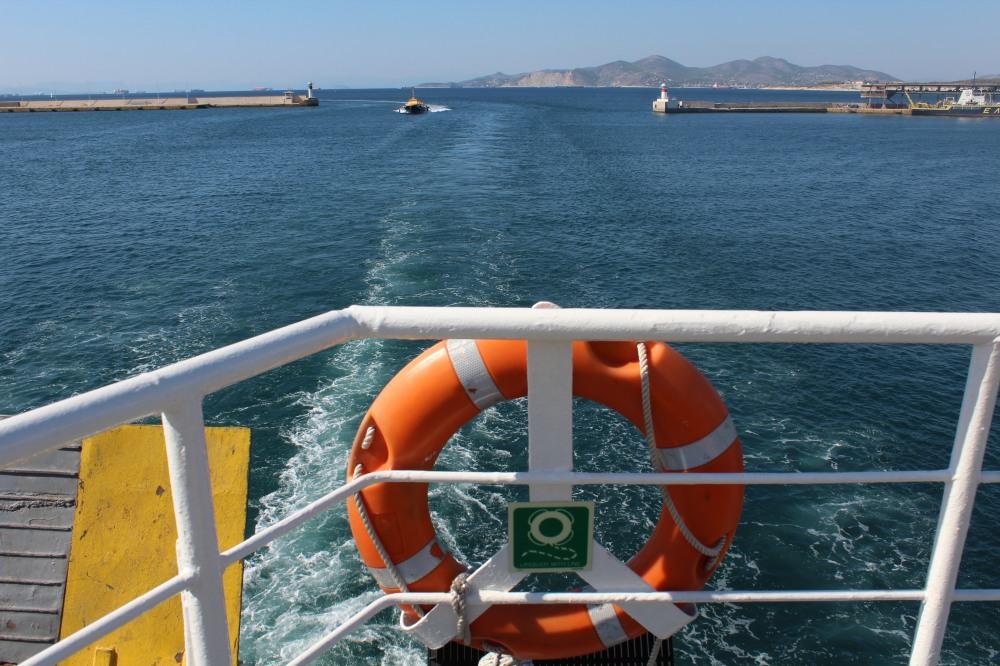 Fähre nach Athen von der Insel Ägina im saronischen Golf - Reiseblog Exploreglobal