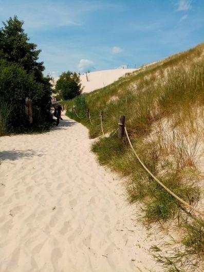 Wanderdüne von Leba an Polens Ostseeküste - Exploreglobal Reiseblog
